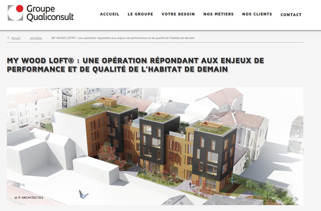 Article Presse - Groupe Qualiconsult